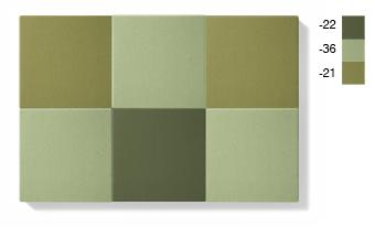 SMALL - grön kombination, 1,5 kvadratmeter