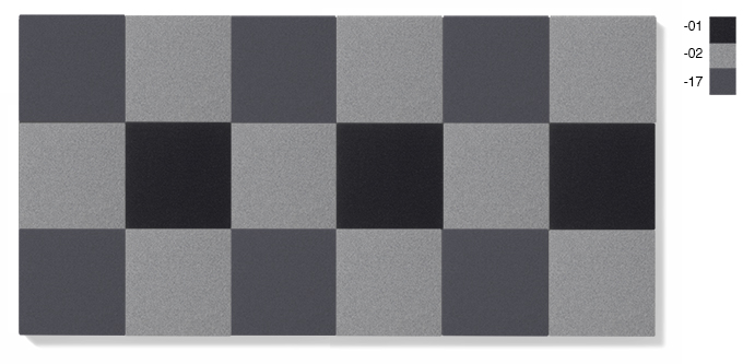 LARGE - grå kombination, 4,5 kvadratmeter