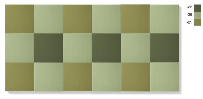 LARGE - grön kombination, 4,5 kvadratmeter