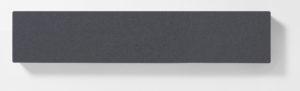 AKUSOUND, 20x100 cm, ulltyg, medium grå
