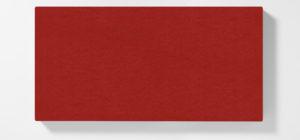 AKUSOUND, 50x100 cm, ulltyg, röd