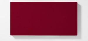 AKUSOUND, 50x100 cm, ulltyg, vinröd