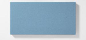 AKUSOUND, 50x100 cm, ulltyg, ljus blå