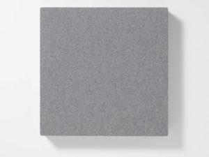 AKUSOUND, 50x50 cm, ulltyg, silvergrå