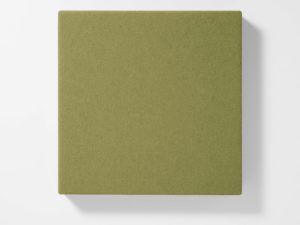 AKUSOUND, 50x50 cm, olivgrön.