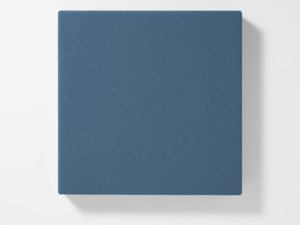 AKUSOUND, 50x50 cm, ulltyg, midnight blå
